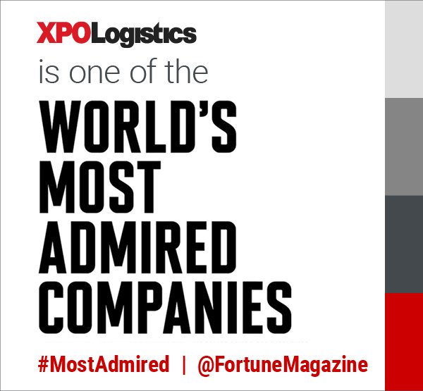 XPO empresa admirada en el mundo revista FORTUNE
